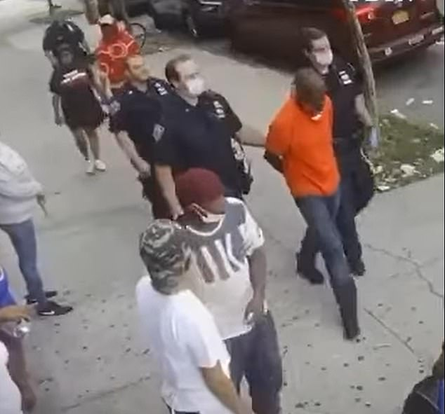 The New York Police Department identified the suspect as Daniel Biggs, 53. According to the NYPD, Biggs has 18 prior arrests, including for assault and robbery. On August 2, Biggs allegedly slashed a man in the face