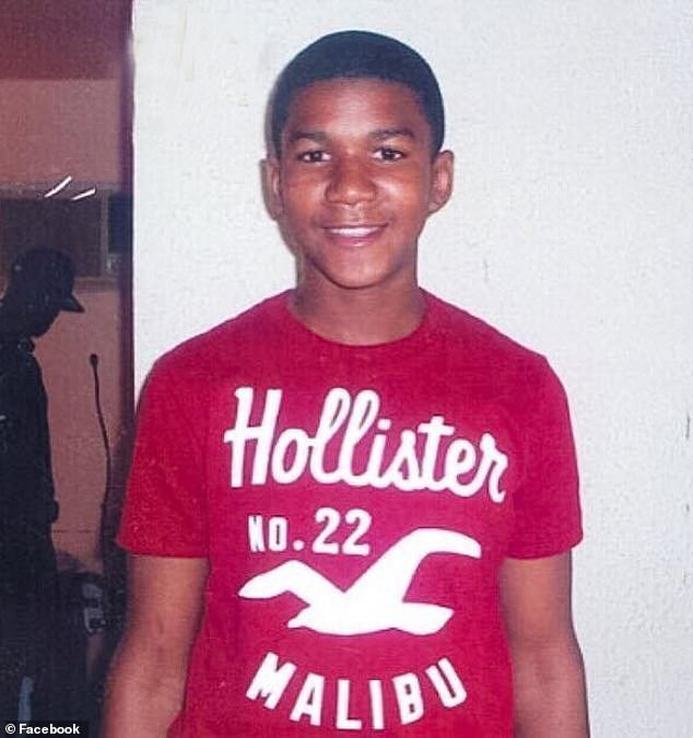 Tragic: Trayvon, a 17-year-old high school student, was shot and killed by neighborhood watch coordinator George Zimmerman while walking home in Florida in 2012
