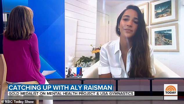 Candid: Raisman opened up aboutstruggles with post-traumatic stress disorder (PTSD) after being abused by disgraced former USA Gymnastics doctor Larry Nassar
