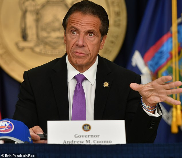 Gov. Cuomo said on Tuesday he would not allow indoor dining to resume until there is a team in place that would enforce social distancing rules. He says the NYPD can't do it because they are overstretched and that no one else has been put forward to handle the problem