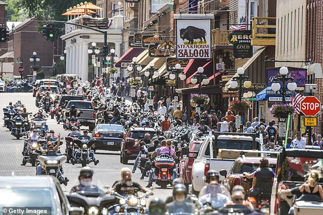 Nearly 20 percent of all the new 1.4 million cases of coronavirus reported between August 2 and September 2 can be traced back to the Sturgis Motorcycle Rally held in South Dakota last month, economists say