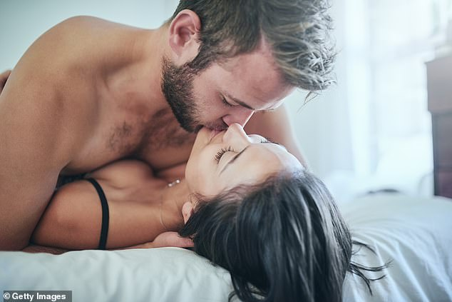 Tracey Cox reveals what you choice of sex position says about your relationship, as it's revealed the average couple alternates between just two or three (file image)