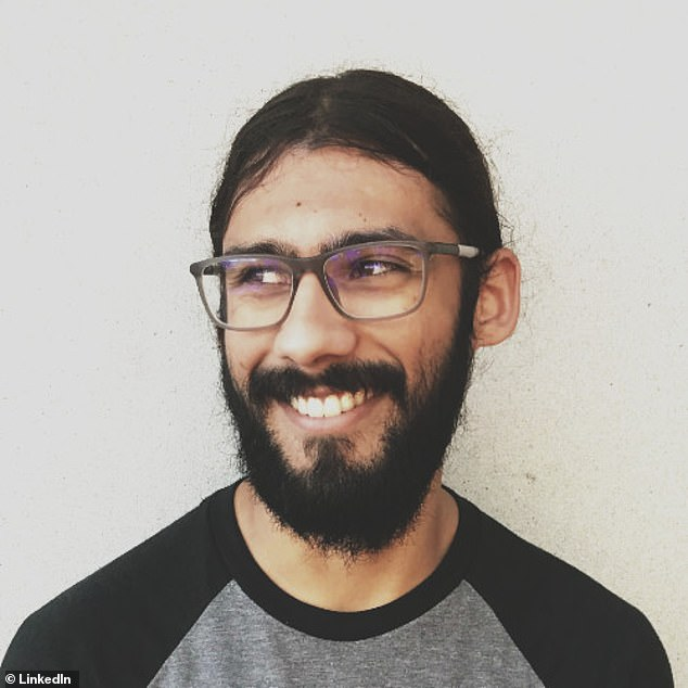 Software engineer,Ashok Chandwaney (pictured), 28, resigned from Facebook Tuesday morning because they could 'no longer stomach contributing to an organization that is profiting off hate'