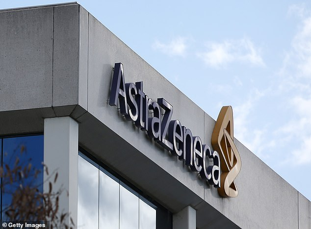 Shares for AstraZeneca plummeted by eight percent in after-hours trading