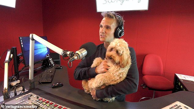 Changes:In Sydney and Brisbane, Kent 'Smallzy' Small (pictured) is now set to host afternoons, while Dan 'DC' Cassin will do mornings