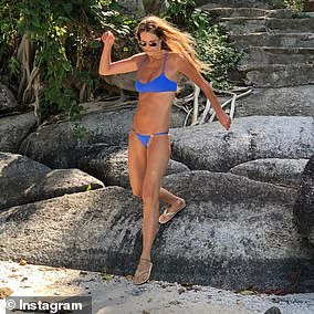 Elle (pictured) now follows the alkaline diet, which isbased on the idea that replacing acid-forming foods with alkaline foods can improve your health