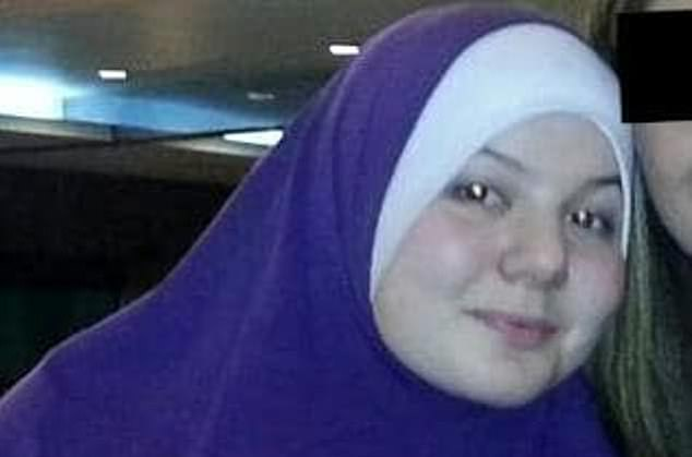 Australia's first Islamic State bride Zehra Duman (pictured) is holed up in a Turkish prison