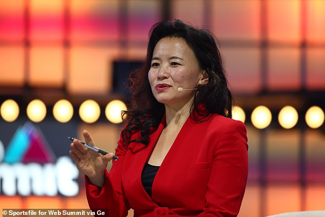 The Chinese foreign ministry said Ms Cheng (pictured) had been investigated and was 'suspected of carrying out criminal activities endangering China's national security'