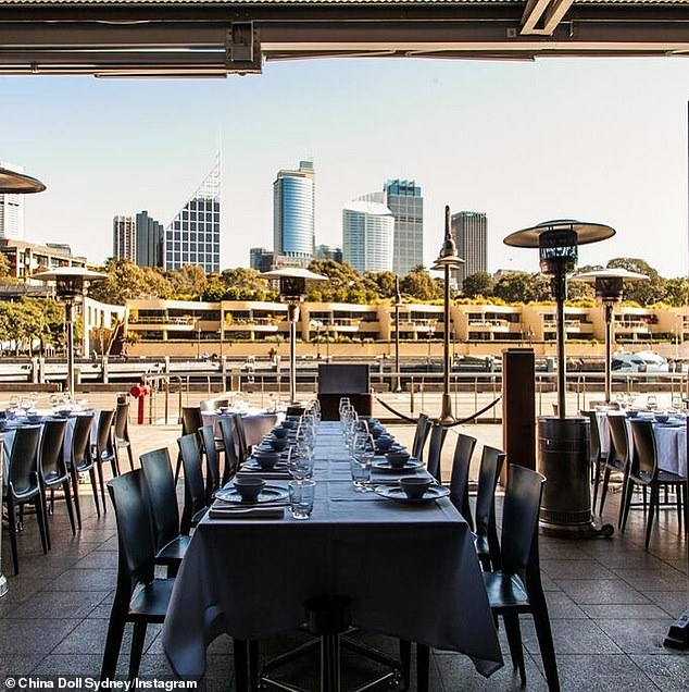 China Doll restaurant in Woolloomooloo, which is a popular destination for Sydney celebrities, is one of several venues across the city on alert due COVID-19