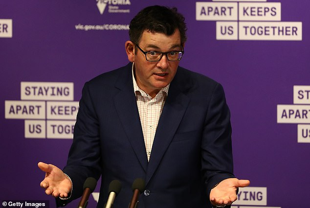 Victorian Premier Daniel Andrews (pictured on Wednesday) announced his road map out of Stage Four restrictions and will allow customers to dine at venues at the end of October