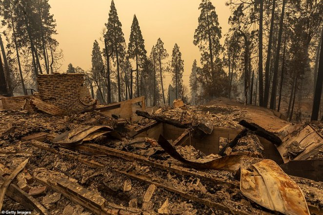 Meadow Lakes, a community in northern California, was left devastated by the Creek Fire, which began on Friday evening