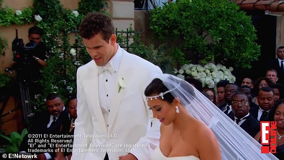 Record: Kim wed NBA player Kris Humphries in a two-part special that aired on E! and set a record for the network pulling in 10.5m viewers combined, while part one set a record with one million day of views