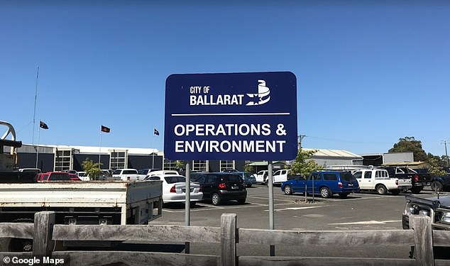 The City of Ballarat Council said Mr Marrell was fired for 'poor work performance and poor attendance'