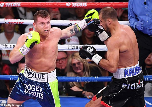 Canelo Alvarez is at loggerheads with his promoter and DAZN over his 10-fight contract