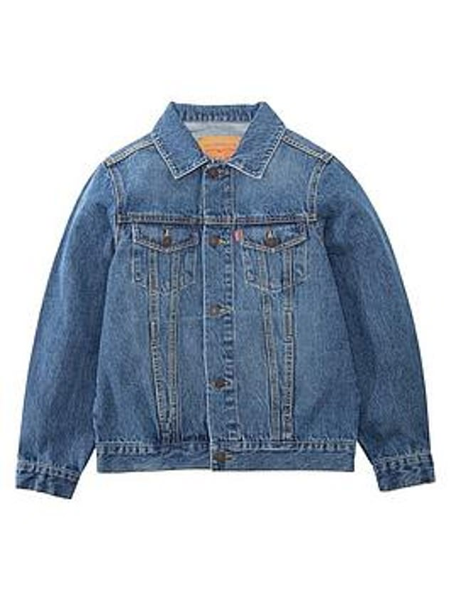 Levi's Boys Denim Trucker Jacket (from £55) at Very