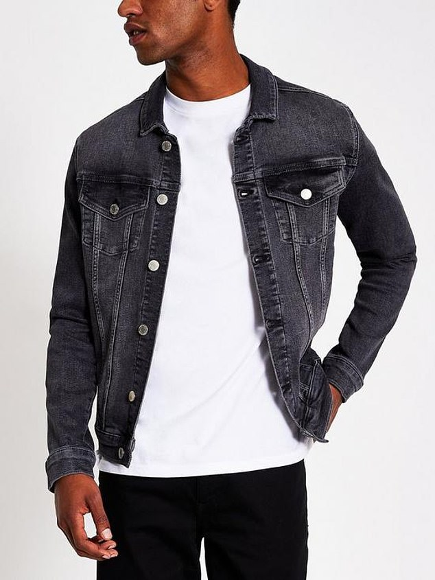 River Island Classic Fit Denim Jacket (£45) at Very