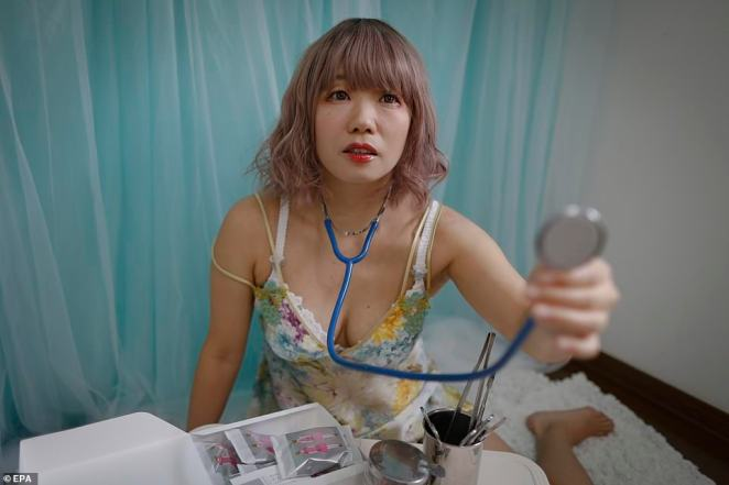 Around 2,000 sex dolls, which cost from $6,000 and can come with adjustable fingers, removable head and genitals, are sold each year in Japan, according to industry insiders