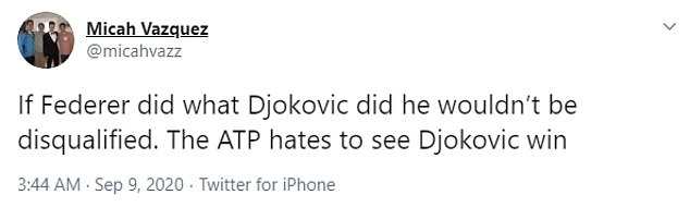 Tennis fans were quick yo drag Federer into the argument after Djokovic's controversial saga
