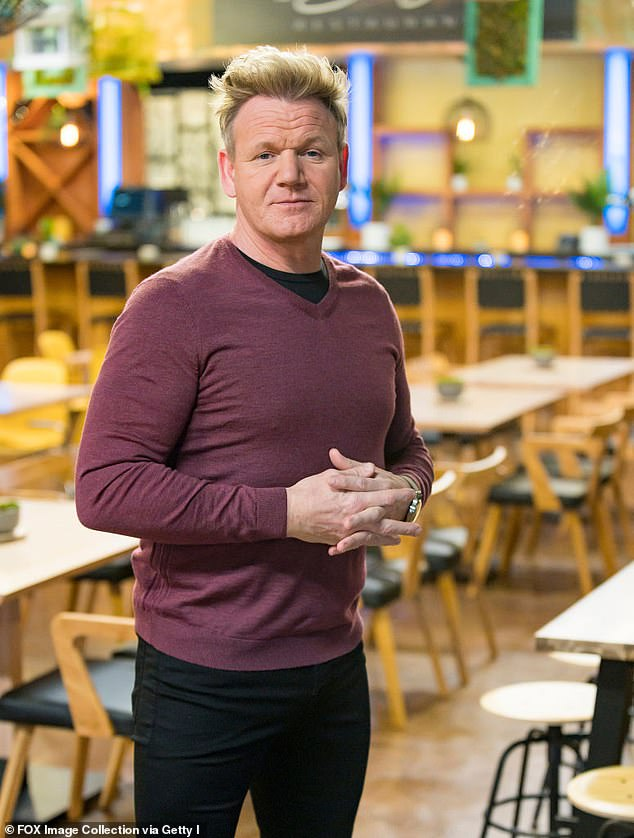 The host with the most: Earlier this week, the culinary artist revealed he's set to make his debut as a prime time game show host, as part of a new deal inked with the BBC