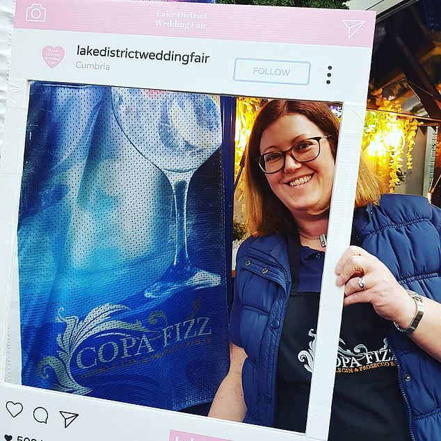 Gillian Bartlett runs Lancashire-based Copa Fizz, a mobile gin, beer and Prosecco bar which caters to weddings, popups and festivals across the North-West