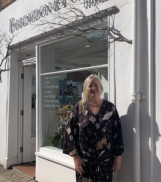 Jools Cardozo, the owner of Farringdon and Forbes Home Interiors in Leamington Spa, Warwickshire, said the stringent rules could have 'utterly catastrophic' ramifications