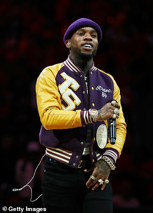 Canadian rapper Tory Lanez, 28, ,has been accused by Megan Thee Stallion of shooting her in the foot. This is the first time she has directly named him