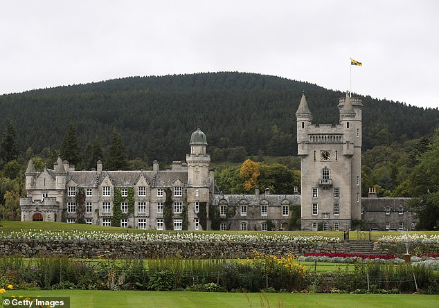 Unable to welcome friends and family to stay in the castle because of Covid restrictions, she has also been deprived of the unbridled joy of the Ghillies' Ball. Pictured: Balmoral
