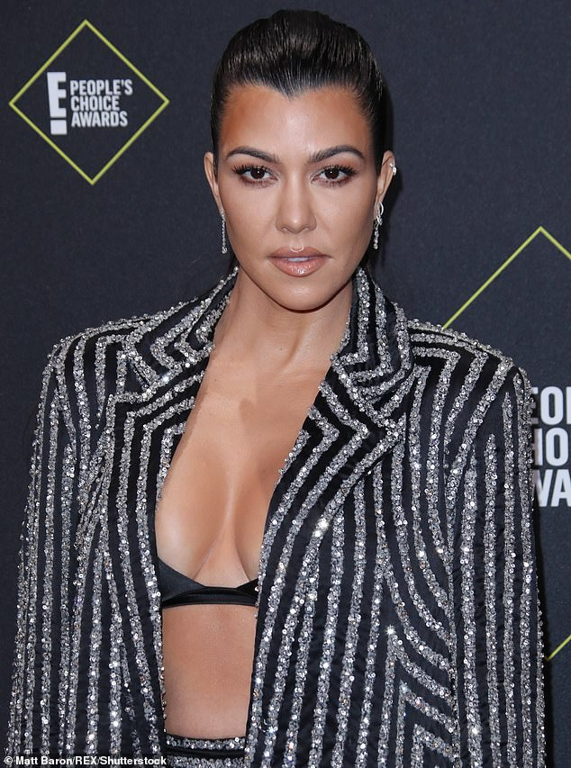 Kourtney Kardashian (pictured) had already featured on a reality show whenKUWTK started and became known as the most sensible of the Kardashians