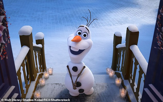 Spin-off: Disney has announced a new Frozen animated short that will star uncover the origins of the film's beloved snowman, Olaf, who is voiced by Josh Gad