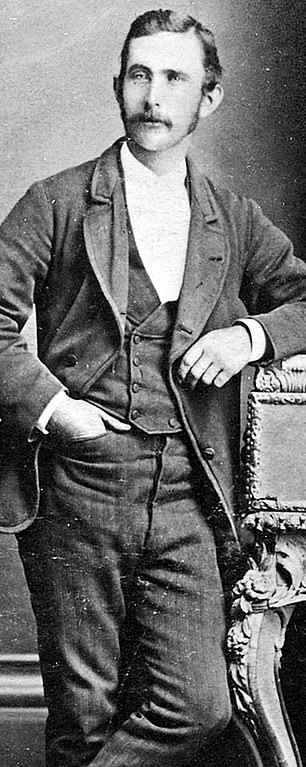 Joe Byrne (pictured) was Ned Kelly's best mate and a well-read opium smoker