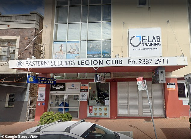 Anyone who was at the Eastern Suburbs Legion Club in Waverley between 5pm and 6.30pm on August 28 has been told to immediately get tested for COVID-19 and isolate until they receive a negative result