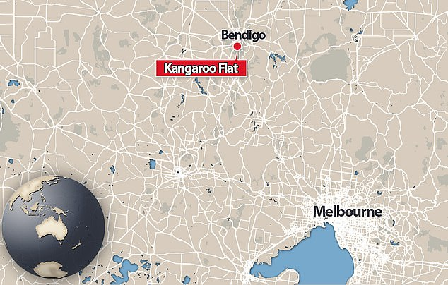A car was turning toward a slip lane on High Street in Kangaroo Flat, 5km south-west of Bendigo's CBD, when it collided with the child about 7.20pm on Wednesday