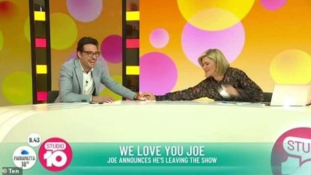 'I will fight for them': Noting that there was a 'light at the end of the tunnel for him', Joe announced his plans to help others across the country who had been left 'absolutely smashed' after losing their job due to the COVID-19 pandemic