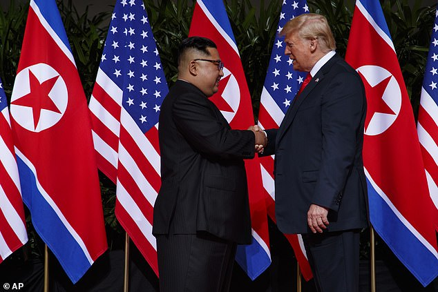 Transcripts of Kim Jong Un's 'love' letters to Donald Trump have revealed the dictator fawning over their Singapore peace summit, wishing the president a happy birthday and calling Barack Obama and 'a**hole'