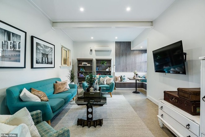 The unique design of the home has been attracting attention since it was listed for sale at auction on September 5