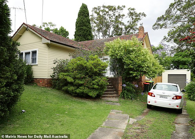 The house of the late Olga Edwards in West Pennant Hills after her death, just six months after her children were murdered