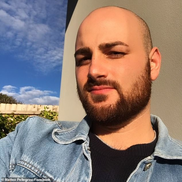Matteo Pellegrino began working at Meu Jardim in January and told Daily Mail Australia he was regularly paid late