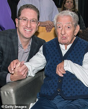 Centurty 21 co-CEO Raymond Gindi pictured left with founder of the company Al Gindi