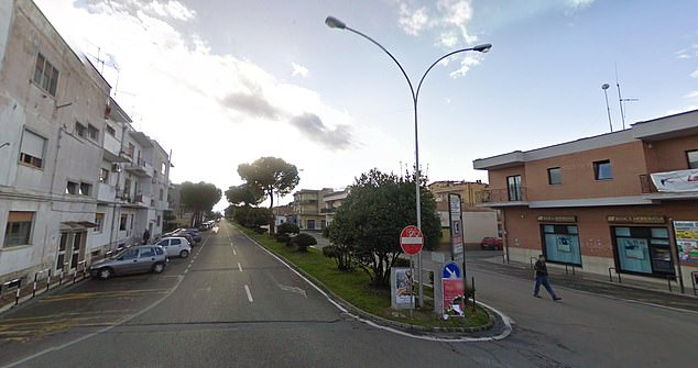 Four people have been arrested after the alleged rape of two British girls on the night of September 7. The assault occurred at a villa in the small seaside town of Marconia di Pisticci in southern Italy (pictured)