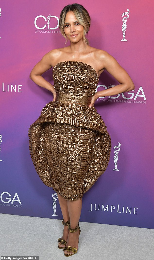 Speaking out:Halle Berry has branded her historic Oscar win as 'one of my biggest heartbreaks' as she remains the only black actress to score the top accolade (pictured in 2019)