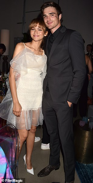 Romantic Past: Jacob is paired with his former Euphoria co-star Zendaya