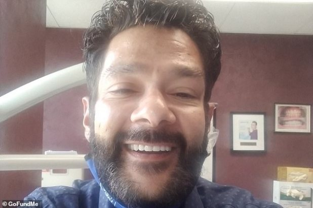 Looking good!  Mighty Duck actor Sean Weiss recently celebrated 230 days of recovering from meth addiction and, in an update posted on his GoFundMe page, a line of permanent top teeth was recently installed