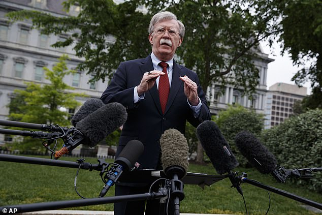 Former National Security Adviser John Bolton said the president just wanted the virus to go away
