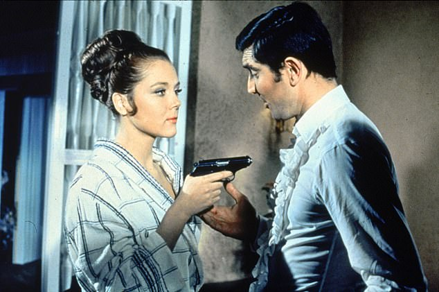 Her other famous roles included James Bond's wife in On Her Majesty's Secret Service in 1969
