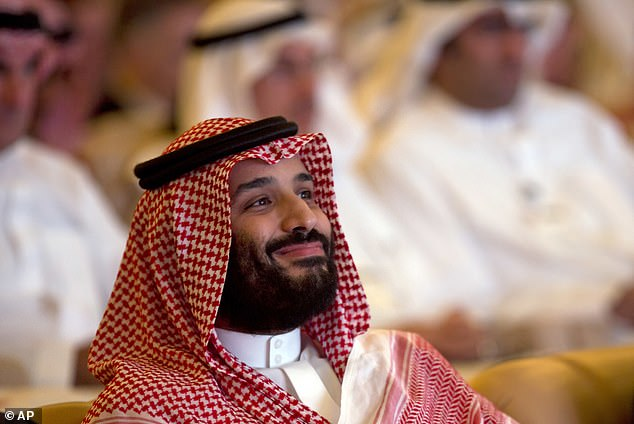 Asked by Woodward if he believes Mohammed bin Salman when he says he didn't order the killing, Trump said: 'No, he says that he didn't do it'