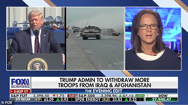 Trump also tuned in for ElizabethMcDonald on Fox Business Network