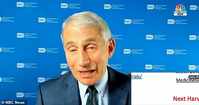 Dr Anthony Fauci said during a panel discussion on Thursday that Americans should prepare to 'hunker down' for the fall and winter as the US heads into flu season