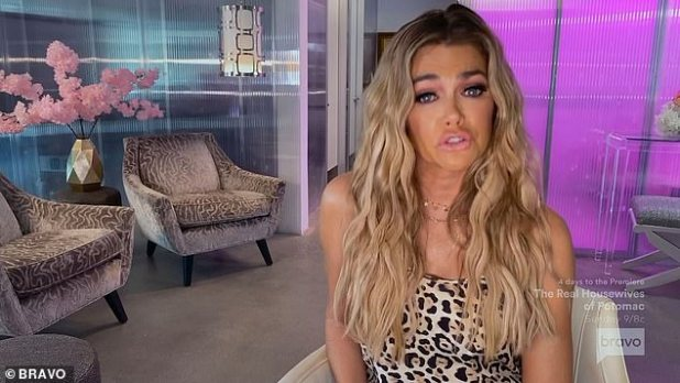 Didn't feel right: Denise said in an interview in July that she would only return to RHOBH 'if it felt right'