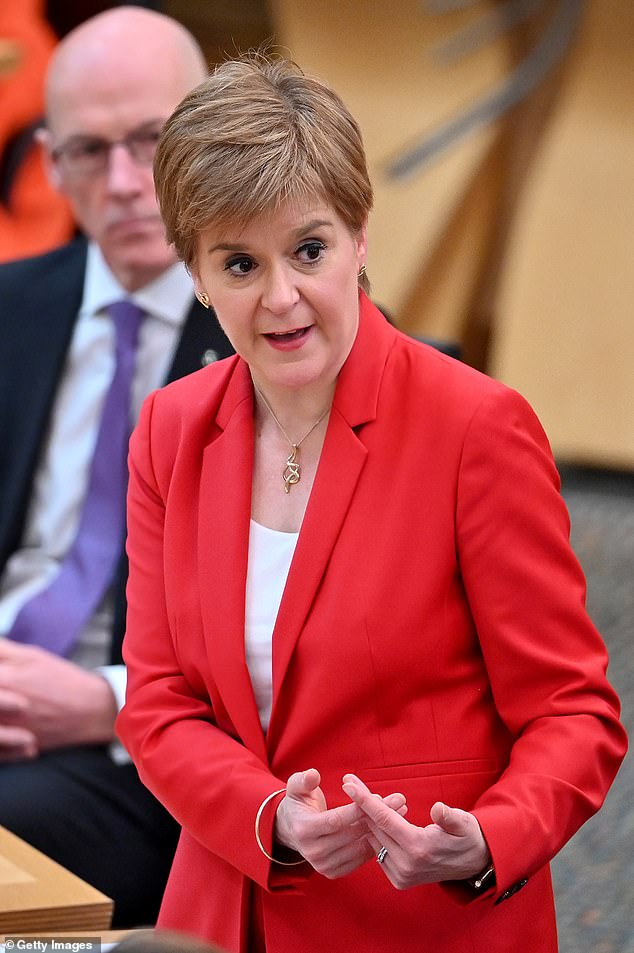 The Shetland West councillor referenced the 2013 Lerwick declaration by former First Minister Alex Salmond, when he announced plans to decentralise power to the islands. Pictured: Incumbent First Minister Nicola Sturgeon