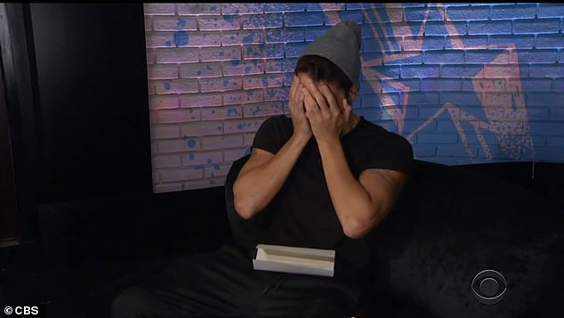 Tough news:In the middle of everything, Cody Calafiore, 29, was asked to go to the diary room, where he was handed a letter